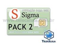ATIVAÇÃO SIGMA PACOTE 2 PARA SIGMA BOX OU SIGMA KEY (SEM SUPORTE