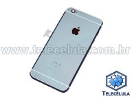 BACK HOUSING ORIGINAL APPLE IPHONE 6S A1688 CINZA BATERIA, FLEX POWER, FLEX CARGA, VIBRA CALL