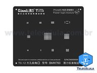 BLACK STENCIL QIANLI IBLACK NORMAL BMW760 POWER LOGIC REBALLING COMPATÍVEL IPHONE 6S, 6SP -BMW760