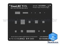 BLACK STENCIL QIANLI IBLACK NORMAL S400 POWER LOGIC REBALLING COMPATÍVEL IPHONE 8, 8P