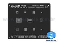 BLACK STENCIL QIANLI IBLACK NORMAL BASEBAND REBALLING COMPATÍVEL IPHONE 6, 6P - BMW740