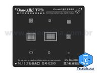 BLACK STENCIL QIANLI IBLACK NORMAL BASEBAND REBALLING COMPATÍVEL IPHONE 6S, 6SP - E200