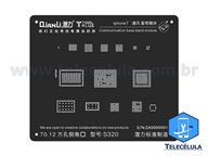 BLACK STENCIL QIANLI IBLACK NORMAL BASEBAND REBALLING COMPATÍVEL IPHONE 7, 7P - S320