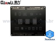 BLACK STENCIL QIANLI IBLACK NORMAL BASEBAND REBALLING COMPATÍVEL IPHONE 8, 8P - S450