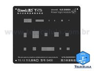 BLACK STENCIL QIANLI IBLACK NORMAL BASEBAND REBALLING COMPATÍVEL IPHONE 8, 8P - S400