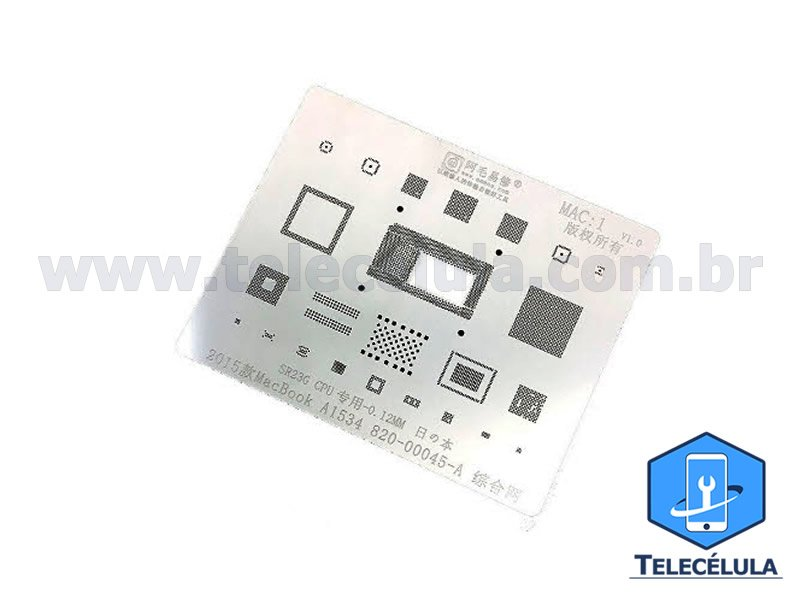 STENCIL SSD:1 FLASH NAND DDR 2246 BGA 96, 100, 152, 132, 136, 316, 272