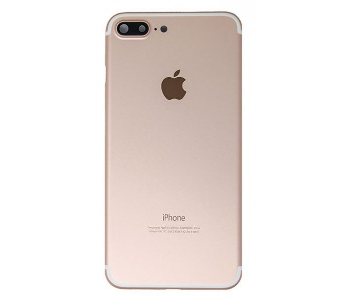 BACK HOUSING, CARCAÇA COM BATERIA E FLEX CABLES IPHONE 7 PLUS A1661 GOLD ROSE ORIGINAL