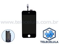 LCD PLAYER APPLE IPOD TOUCH 4 COM TOUCH PRETO