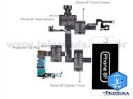 FLEX CABLE DE TESTE IBRIDGE QIANLI PARA APPLE IPHONE 8 PLUS 5.5 ORIGINAL TELECÉLULA OFICIAL RESSELER