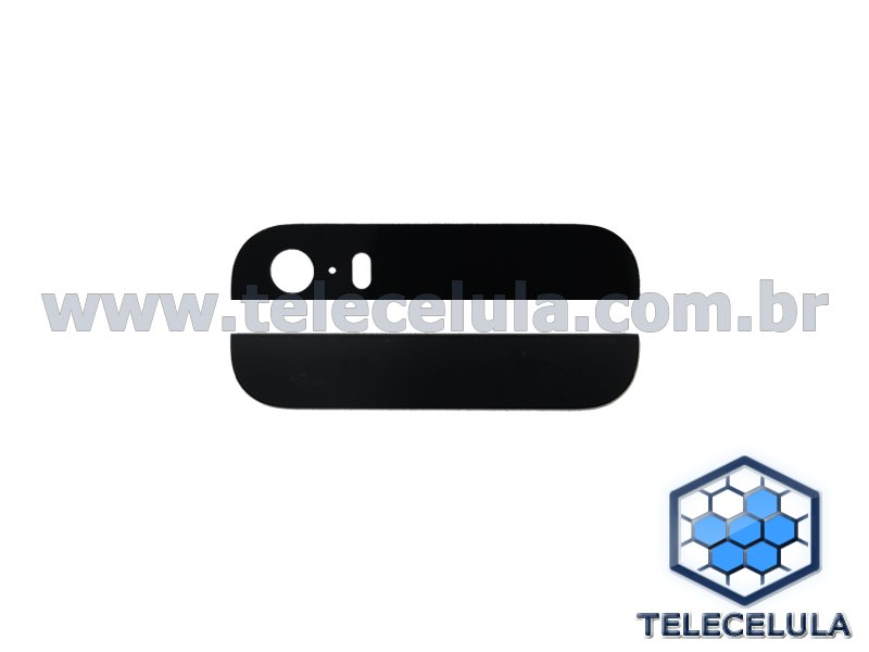 BACK COVER, TAMPA DO BACK HOUSING COMPATÍVEL COM IPHONE 5S BLACK