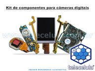 KIT DE COMPONENTES C�MERAS DIGITAIS N�03