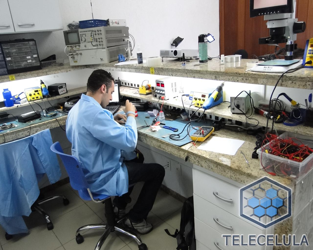 Fotos Treinamento Telecelula Eletrônica Básica e Bancada ...