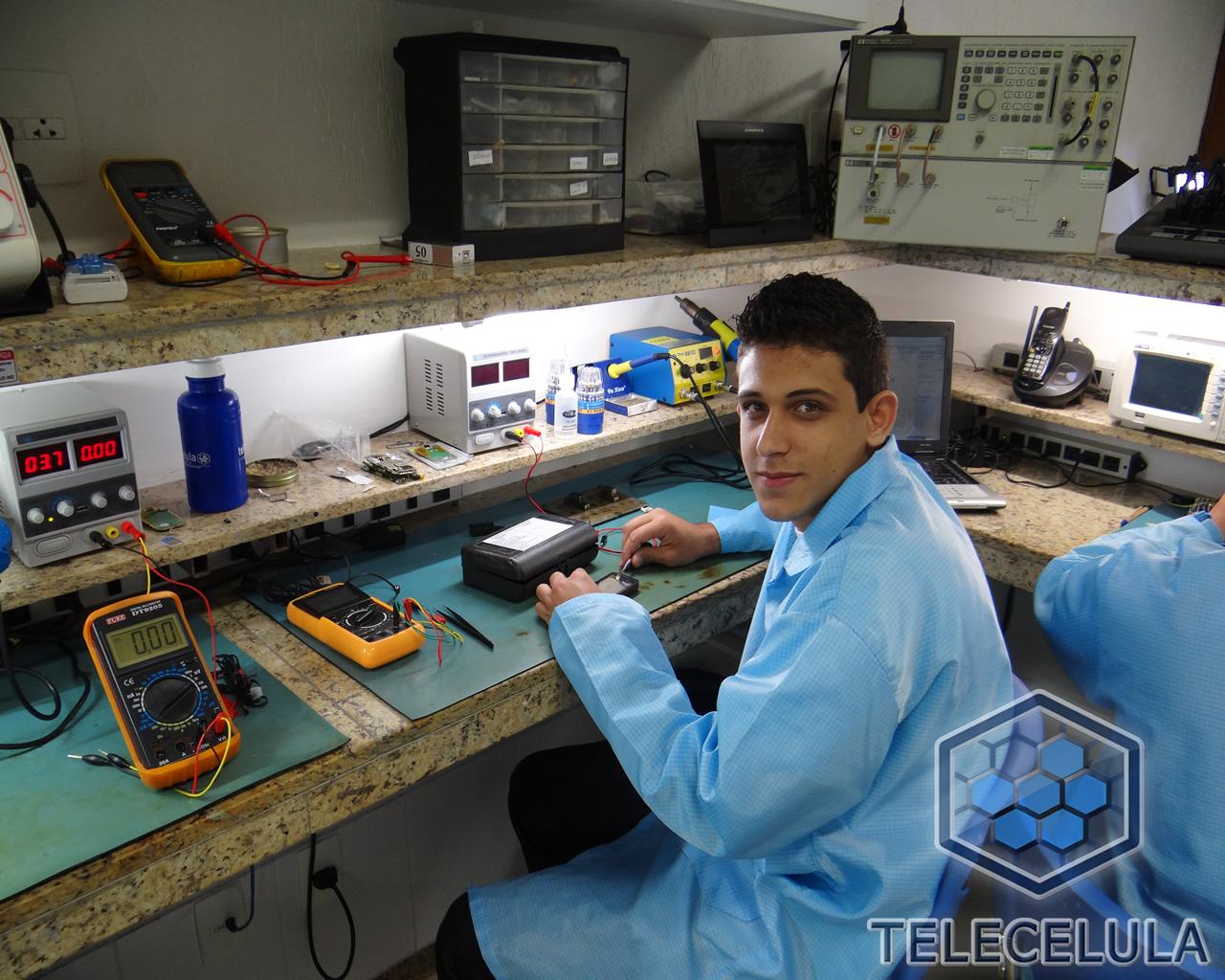 Fotos Treinamento Telecelula Eletrônica Básica e Bancada  #346A97 1280x1024