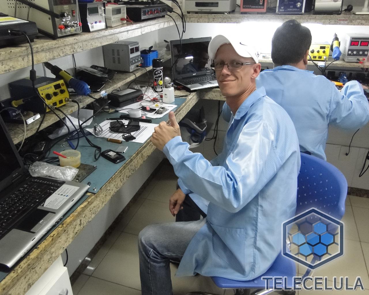 Fotos Treinamento Telecelula Eletrônica Básica e Bancada  #3D648E 1280x1024